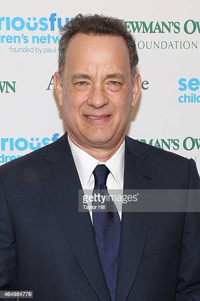 Actor Tom Hanks attends the SeriousFun Children's Network's New York City Gala at Avery Fisher Hall on March 2 2015 in New York City