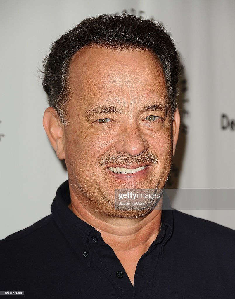 Actor Tom Hanks attends the Shakespeare Center of Los Angeles' 22nd annual 'Simply Shakespeare' event at Freud Playhouse, UCLA on September 27, 2012 in Westwood, California.