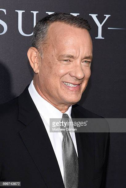"""Actor Tom Hanks attends the """"Sully"""" New York Premiere at Alice Tully Hall on September 6, 2016 in New York City."""