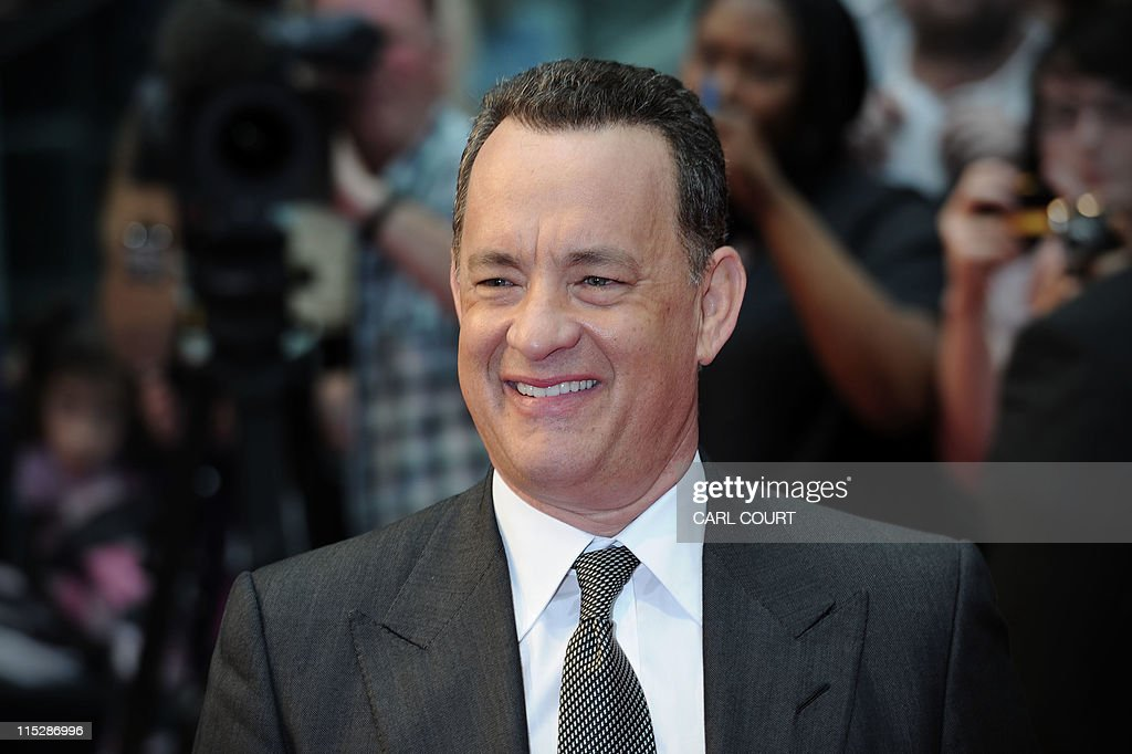 U.S actor Tom Hanks attends the worldwid : News Photo
