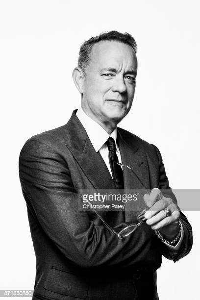 Actor Tom Hanks poses for a portrait at the 31st Annual American Cinematheque Awards Gala at The Beverly Hilton Hotel on November 10 2017 in Beverly...