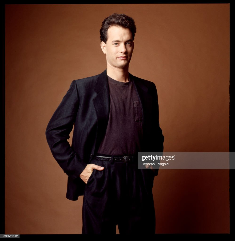 Actor Tom Hanks poses for a portrait in 1987 in New York City, New York.