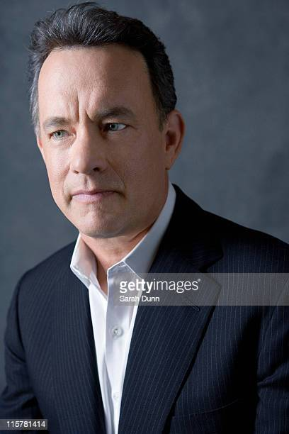 Actor Tom Hanks poses for a portrait shoot in Los Angeles for Empire magazine on March 18 2009