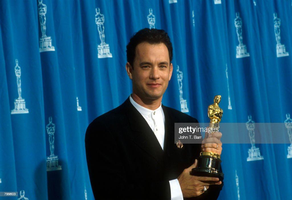 Tom Hanks at 1995 Oscars : News Photo