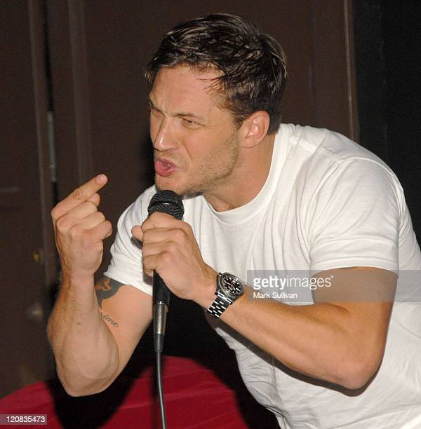 """Actor Tom Hardy at a special screening of Magnet Releasing's """"Bronson"""" at Silent Movie Theatre on September 18, 2009 in Los Angeles, California."""