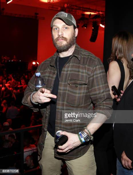 Actor Tom Hardy at the Rolling Stone Live Houston presented by Budweiser and MercedesBenz on February 4 2017 in Houston Texas Produced in partnership...