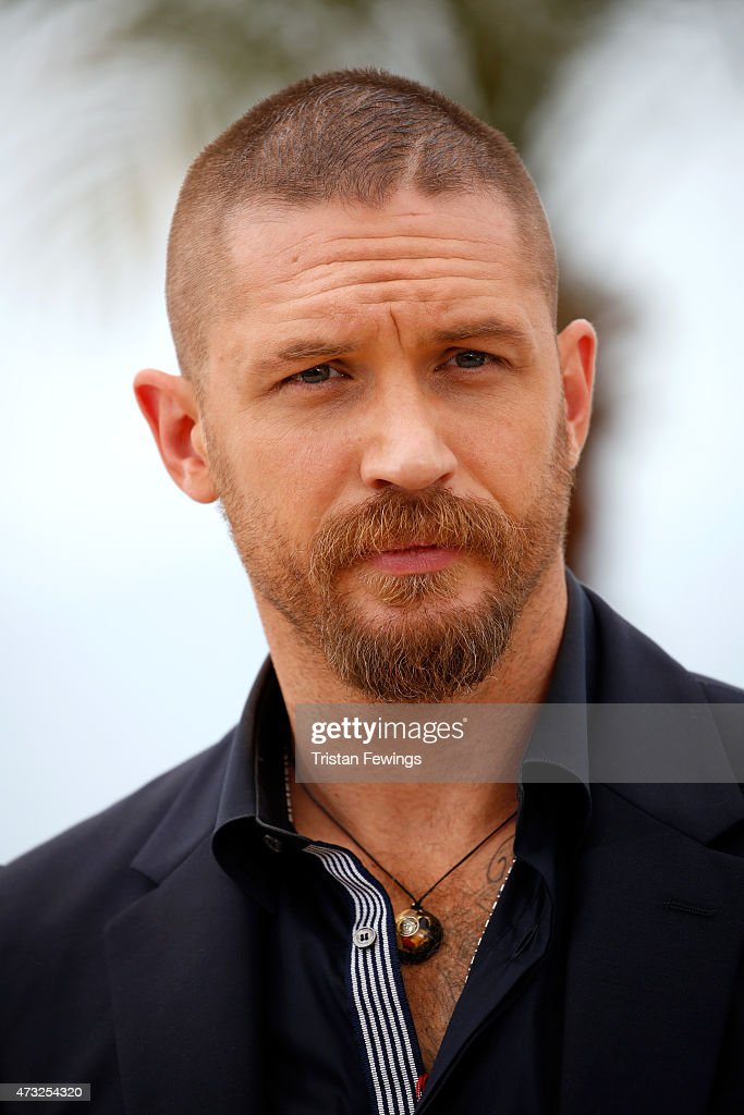 "Actor Tom Hardy attends a photocall for ""Mad Max: Fury ..."