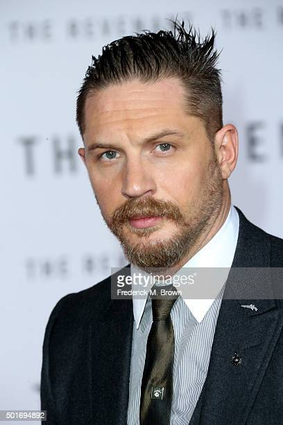 Actor Tom Hardy attends the premiere of 20th Century Fox and Regency Enterprises' The Revenant at the TCL Chinese Theatre on December 16 2015 in...