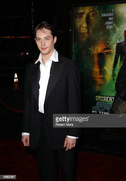 """Actor Tom Hardy attends the premiere of """"Star Trek Nemesis"""" attends the premiere of """"Star Trek Nemesis"""" at Grauman's Chinese Theatre on December 9,..."""