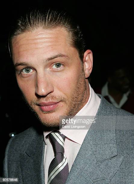 Actor Tom Hardy attends 'Variety's 10 Actors To Watch' event at The Roosevelt Hotel on October 30 2009 in Hollywood California