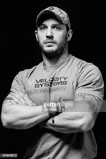 Actor Tom Hardy is photographed for a Portrait Session at the 2014 Toronto Film Festival on September 6 2014 in Toronto Ontario