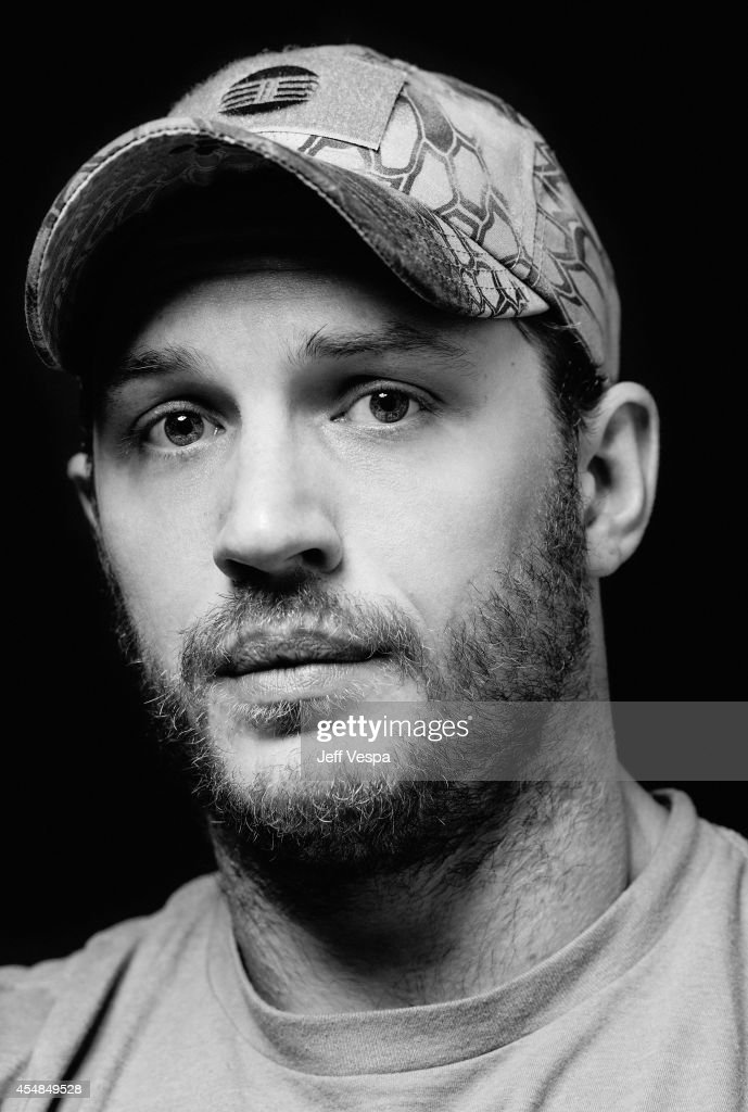 Actor Tom Hardy is photographed for a Portrait Session at ...