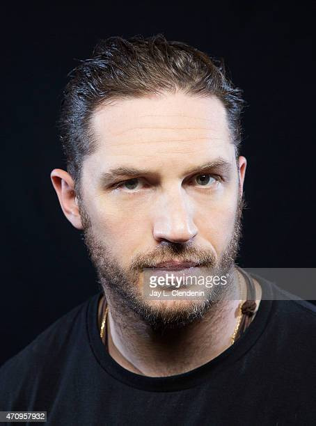 Actor Tom Hardy is photographed for Los Angeles Times on September 5 2014 in Toronto Ontario PUBLISHED IMAGE CREDIT MUST READ Jay L Clendenin/Los...