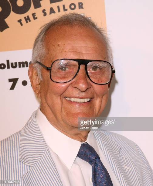 Actor Tom Hatten at The Popeye Volume One DVD Release at The Paley Center for Media on July 31, 2007 in Beverly Hills, California.