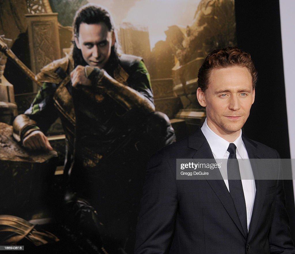 """Thor: The Dark World"" - Los Angeles Premiere - Arrivals : News Photo"