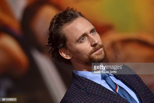 Actor Tom Hiddleston arrives at the premiere of Disney and Marvel's 'Thor Ragnarok' at the El Capitan Theatre on October 10 2017 in Los Angeles...