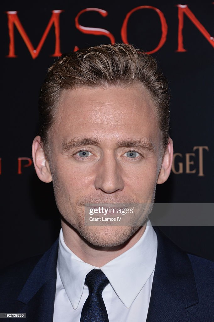 Actor Tom Hiddleston attends 'Crimson Peak' New York Premiere at AMC Loews Lincoln Square on October 14, 2015 in New York City.