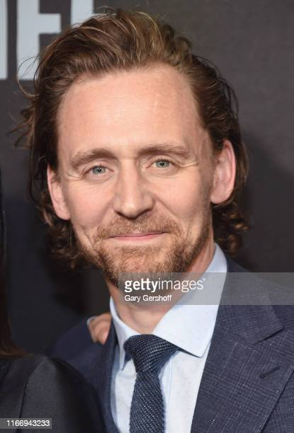 Actor Tom Hiddleston attends Sea Wall / A Life Broadway Opening Night at The Hudson Theatre on August 08 2019 in New York City