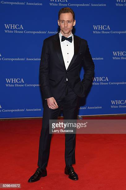 Actor Tom Hiddleston attends the 102nd White House Correspondents' Association Dinner on April 30 2016 in Washington DC