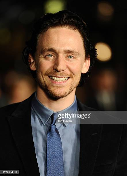 Actor Tom Hiddleston attends the 360 premiere during the 55th BFI London Film Festival at Odeon Leicester Square on October 12 2011 in London England