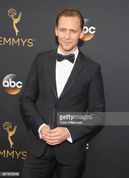 Actor Tom Hiddleston attends the 68th Annual Primetime Emmy Awards at Microsoft Theater on September 18 2016 in Los Angeles California
