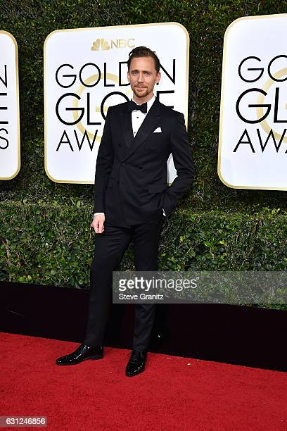 Actor Tom Hiddleston attends the 74th Annual Golden Globe Awards at The Beverly Hilton Hotel on January 8 2017 in Beverly Hills California