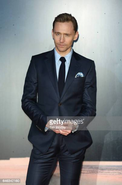 Actor Tom Hiddleston attends the European premiere Of Kong: Skull Island at Cineworld Leicester Sqaure on February 28, 2017 in London, United Kingdom.
