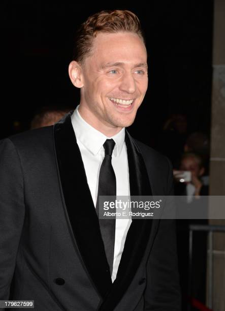 Actor Tom Hiddleston attends the Only Lovers Left Alive premiere during the 2013 Toronto International Film Festival at Ryerson Theatre on September...