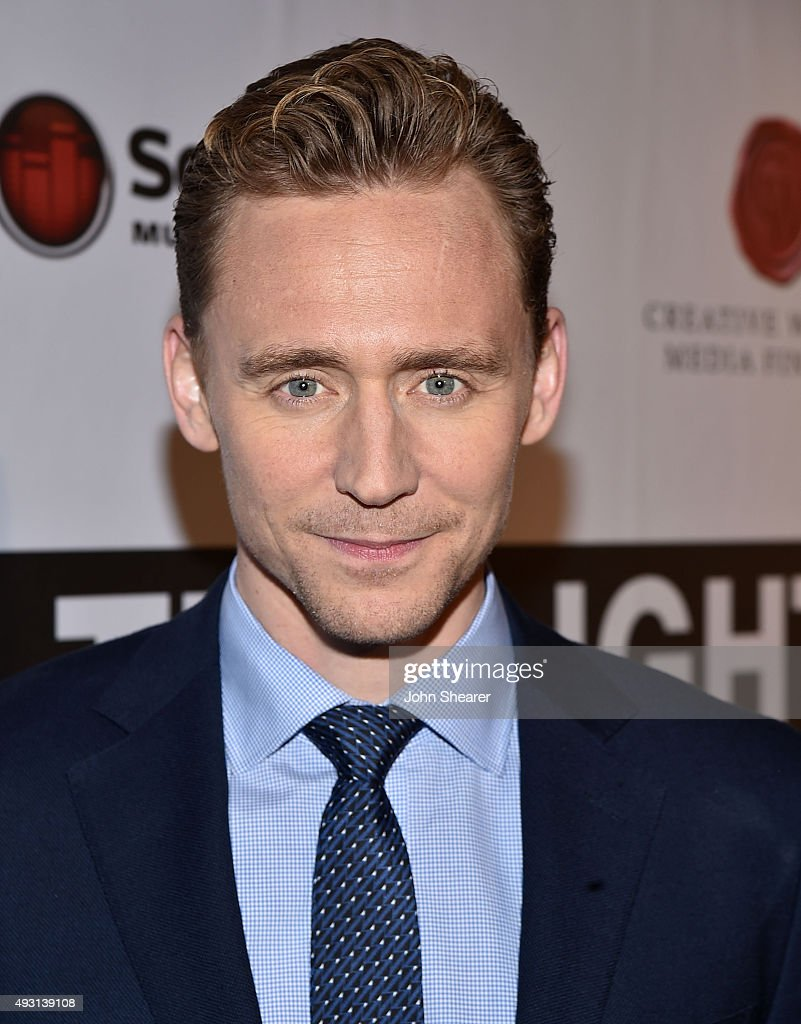 Actor Tom Hiddleston attends the premiere of 'I Saw The Light' at The Belcourt Theatre on October 17, 2015 in Nashville, Tennessee.