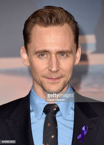 Actor Tom Hiddleston attends the premiere of Warner Bros Pictures' Kong Skull Island at Dolby Theatre on March 8 2017 in Hollywood California
