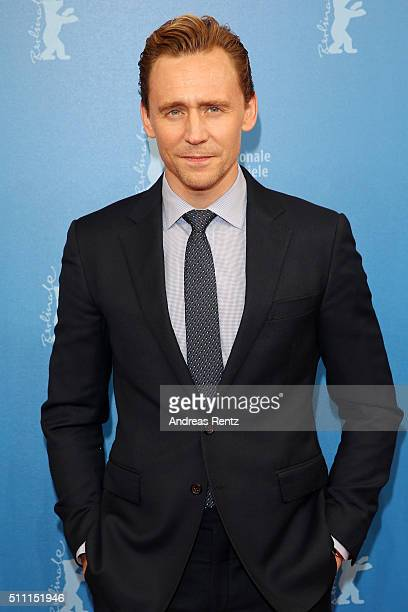 Actor Tom Hiddleston attends the 'The Night Manager' premiere during the 66th Berlinale International Film Festival Berlin at Haus der Berlinale on...