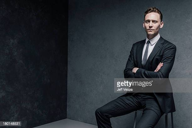 Actor Tom Hiddleston is photographed at the Toronto Film Festival on September 6 2013 in Toronto Ontario
