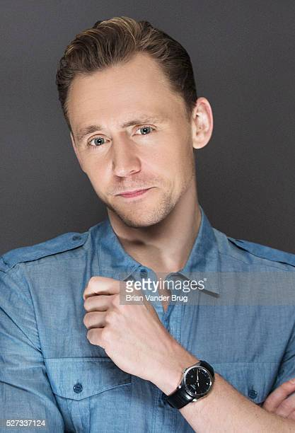 Actor Tom Hiddleston is photographed for Los Angeles Times on April 6 2016 in Los Angeles California PUBLISHED IMAGE CREDIT MUST READ Brian Vander...