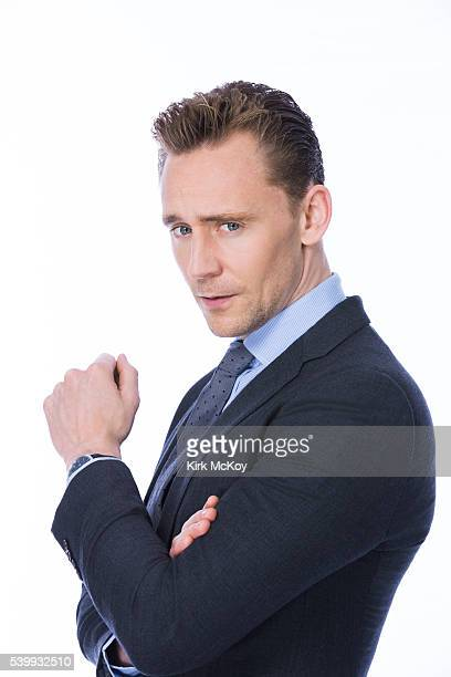 Actor Tom Hiddleston is photographer for Los Angeles Times on April 25 2016 in Los Angeles California PUBLISHED IMAGE CREDIT MUST READ Kirk McKoy/Los...