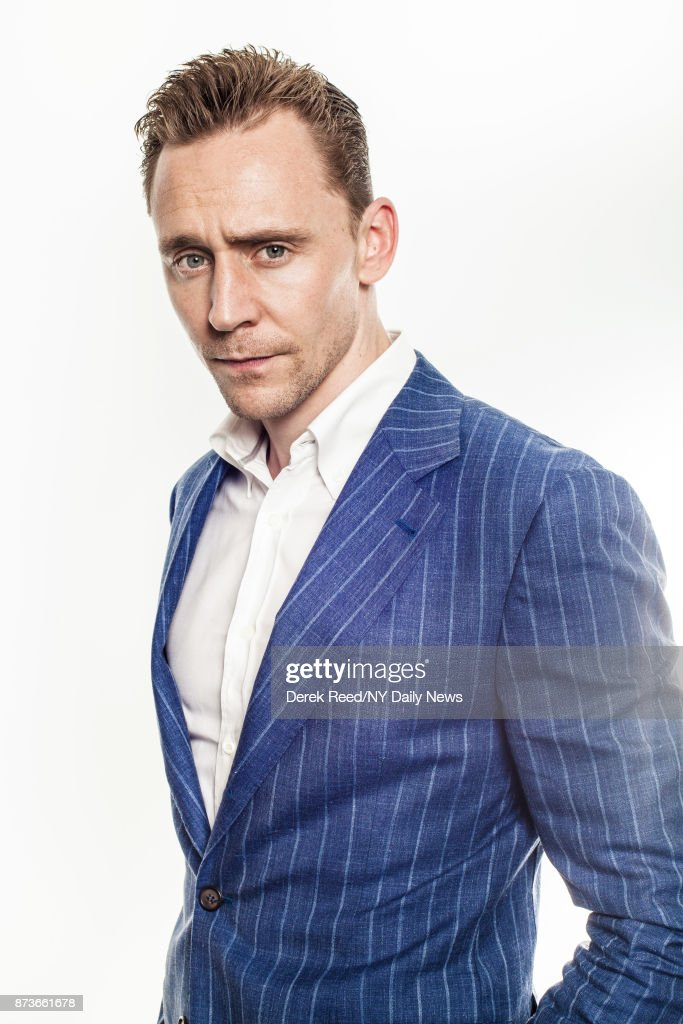 Actor Tom Hiddleston photographed for NY Daily News on April 15, 2016, in New York City.