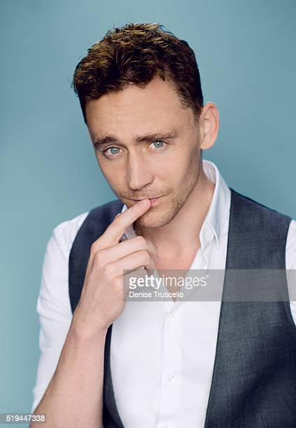 Actor Tom Hiddleston poses for a portrait at the 2013 D23 Expo on August 6 2013 in Las Vegas Nevada