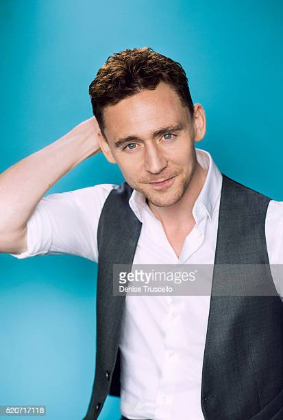 Actor Tom Hiddleston poses for a portrait at the 2013 D23 Expo on August 6, 2013 in Las Vegas, Nevada.