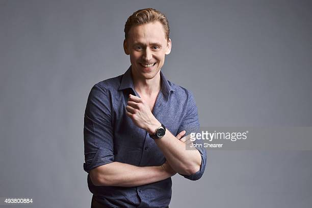 Actor Tom Hiddleston poses for a portrait at the 'I Saw The Light' press day on October 17 2015 in Nashville Tennessee