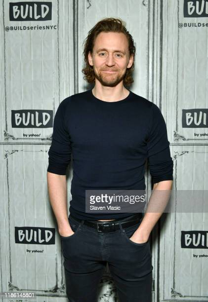 Actor Tom Hiddleston visits Build Series to discuss his Broadway debut at Betrayal at Build Studio on November 07 2019 in New York City