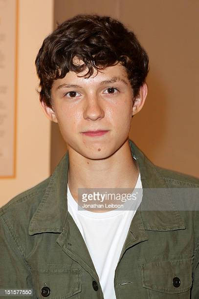 Actor Tom Holland at Variety Studio presented by Moroccanoil on Day 1 at Holt Renfrew Toronto during the 2012 Toronto International Film Festival on...