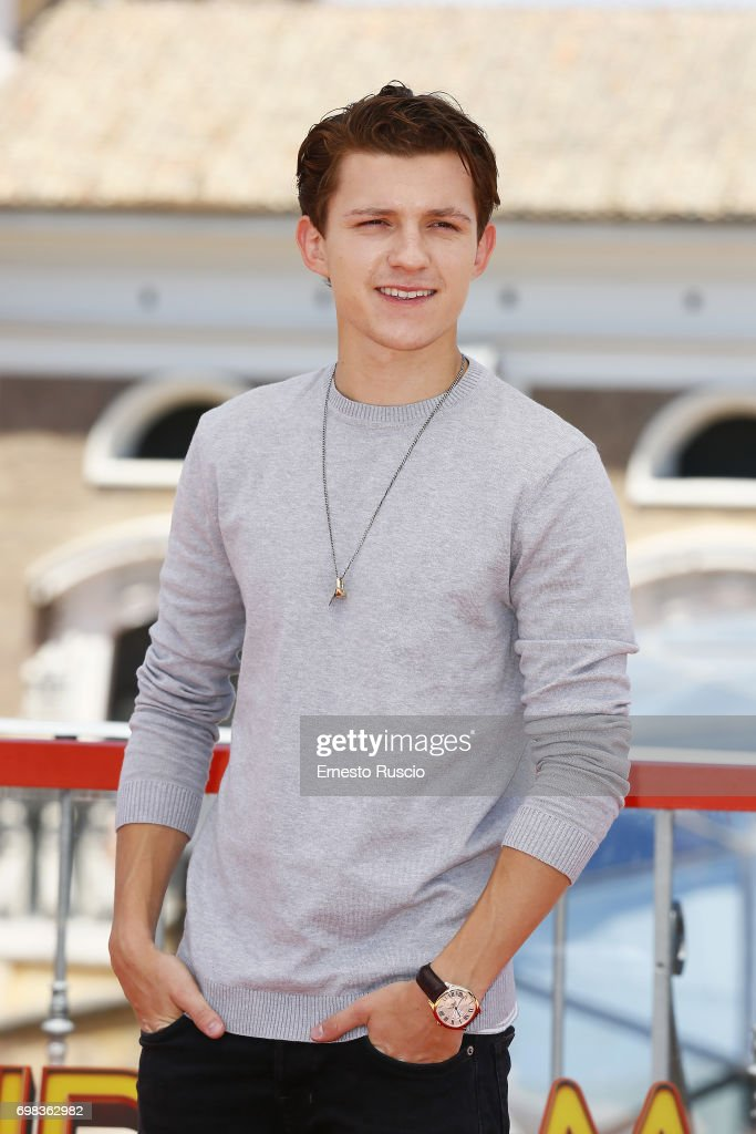 Spiderman Homecoming Photocall In Rome : News Photo