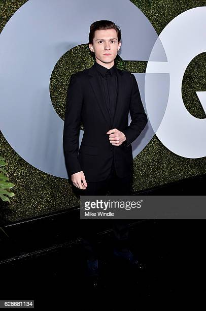 Actor Tom Holland attends the 2016 GQ Men of the Year Party at Chateau Marmont on December 8 2016 in Los Angeles California