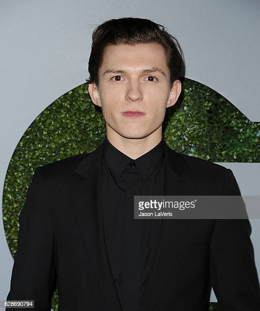 Actor Tom Holland attends the GQ Men of the Year party at Chateau Marmont on December 8 2016 in Los Angeles California