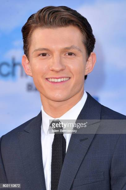 Actor Tom Holland attends the premiere of Columbia Pictures' SpiderMan Homecoming at TCL Chinese Theatre on June 28 2017 in Hollywood California