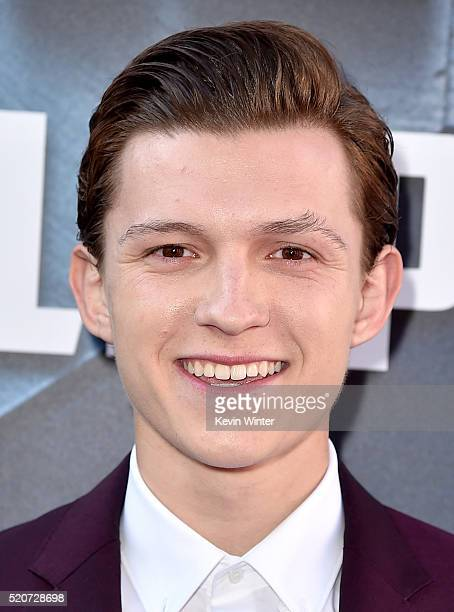 Actor Tom Holland attends the premiere of Marvel's Captain America Civil War at Dolby Theatre on April 12 2016 in Los Angeles California