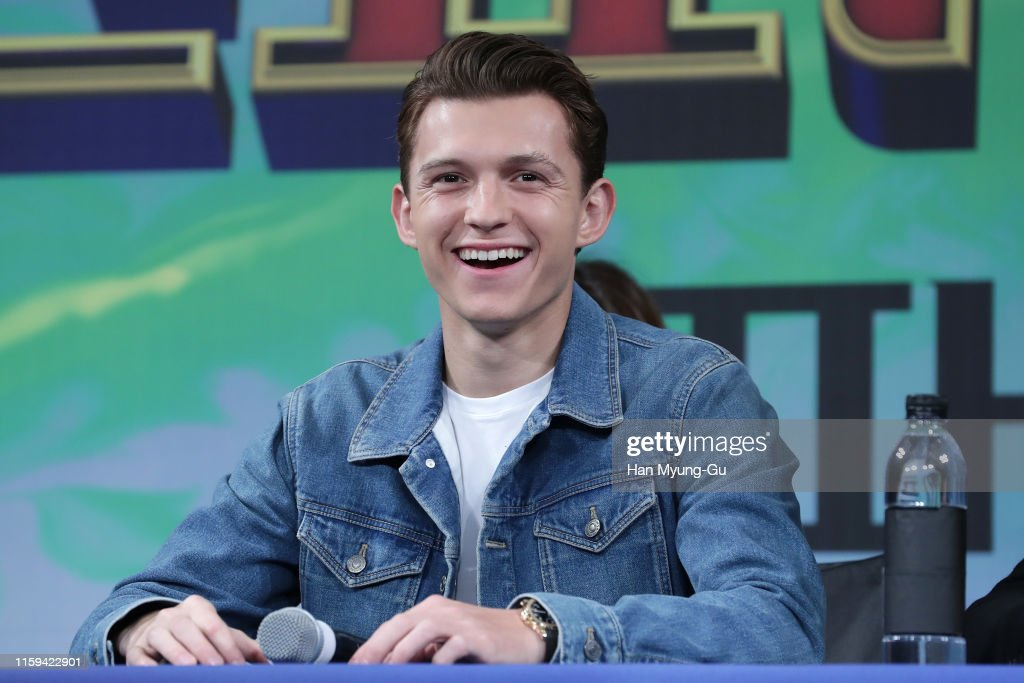 """""""Spider-Man: Far From Home"""" Press Conference In Seoul : News Photo"""