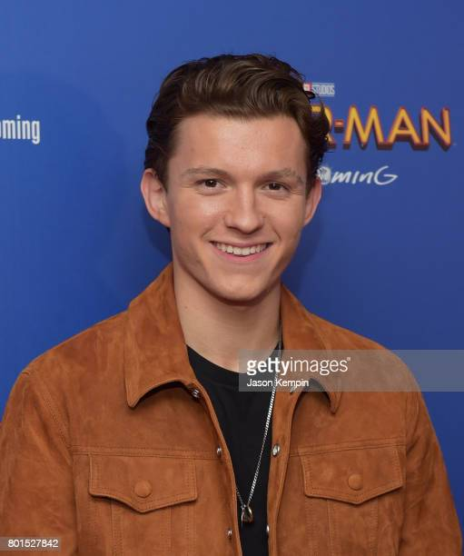 """Actor Tom Holland attends the """"Spiderman: Homecoming"""" New York First Responders' Screening at Henry R. Luce Auditorium at Brookfield Place on June..."""