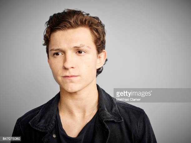 Actor Tom Holland from 'SpiderMan Homecoming' is photographed for Entertainment Weekly Magazine on July 23 2016 at Comic Con in the Hard Rock Hotel...