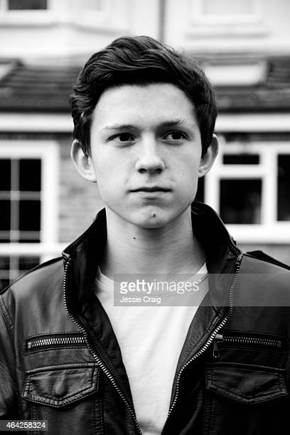 Actor Tom Holland is photographed on February 15 2013 in London England