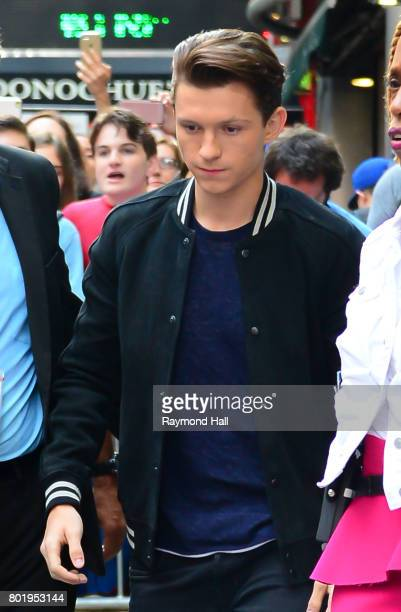 Actor Tom Holland is seen outside Good Morning America on June 27 2017 in New York City